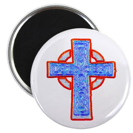 "Celtic Cross 2.25"" Magnet (10 pack)"