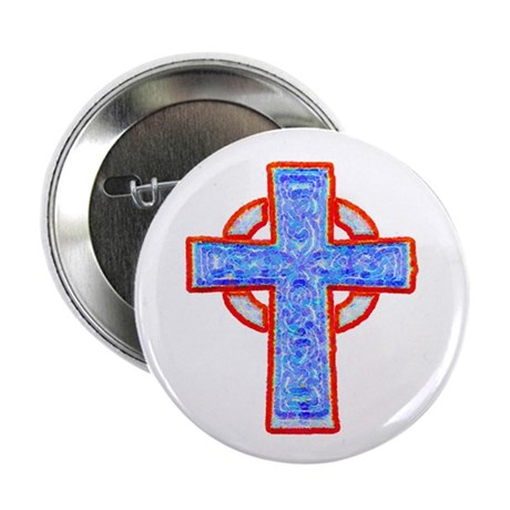"Celtic Cross 2.25"" Button (10 pack)"