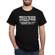 Trucker Definition T-Shirt