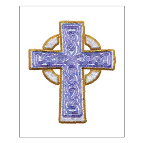 Celtic Cross Small Poster
