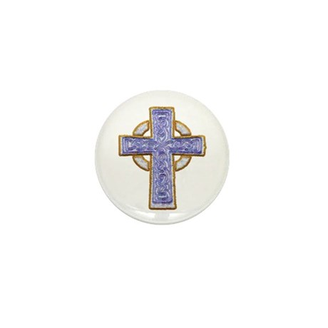 Celtic Cross Mini Button (100 pack)