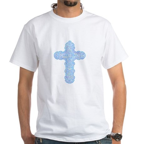Pastel Cross White T-Shirt