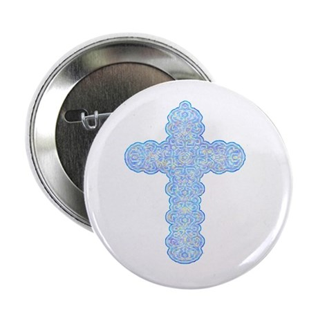 "Pastel Cross 2.25"" Button (100 pack)"