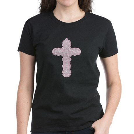 Pastel Cross Women's Dark T-Shirt