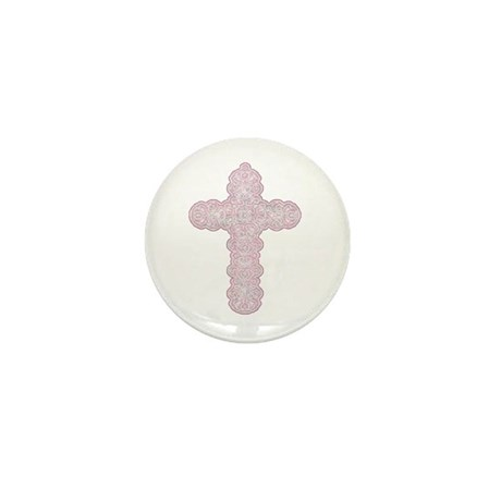 Pastel Cross Mini Button (10 pack)