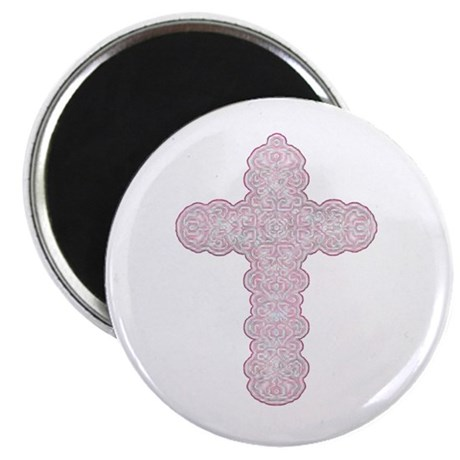 "Pastel Cross 2.25"" Magnet (10 pack)"
