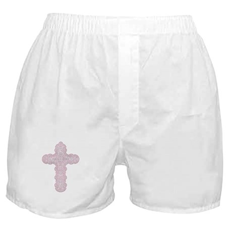 Pastel Cross Boxer Shorts