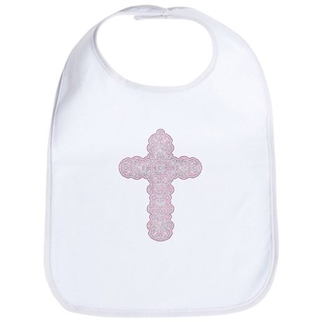 Pastel Cross Bib