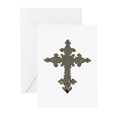 Jewel Cross Greeting Cards (Pk of 10)