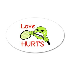 LOVE HURTS Wall Decal
