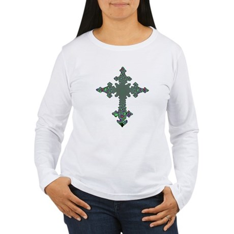 Jewel Cross Women's Long Sleeve T-Shirt