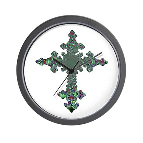 Jewel Cross Wall Clock
