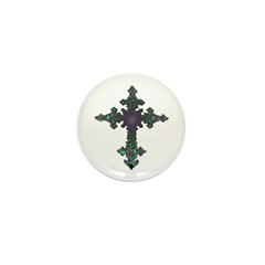 Jewel Cross Mini Button (100 pack)