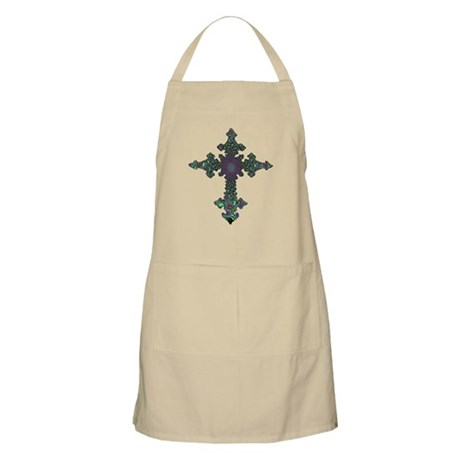 Jewel Cross BBQ Apron