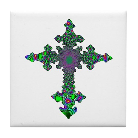 Jewel Cross Tile Coaster