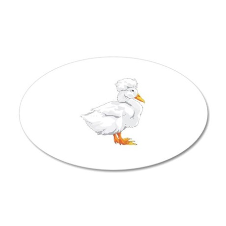 CRESTED DUCK Wall Decal