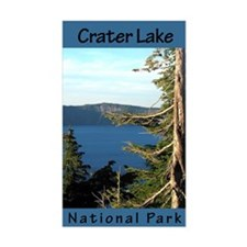 Crater Lake NP (Vertical) Rectangle Decal