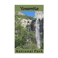 Yosemite NP (Vertical) Rectangle Decal