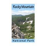 Rocky Mountain NP Vertical Rectangle Decal