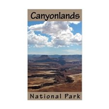 Canyonlands NP (Vertical) Rectangle Decal