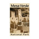 Mesa Verde NP (Vertical) Rectangle Decal