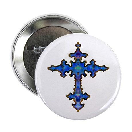 Jewel Cross Button