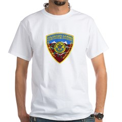 Colorado Gaming Enforcement White T-Shirt