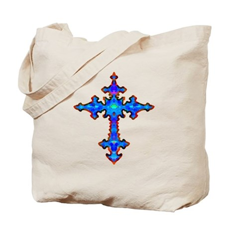 Jewel Cross Tote Bag