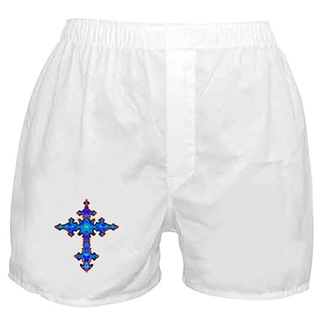 Jewel Cross Boxer Shorts