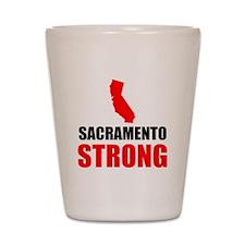 Sacramento Strong Shot Glass