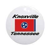 Knoxville Tennessee Ornament (Round)