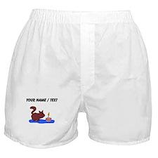 Custom Birthday Cat Boxer Shorts