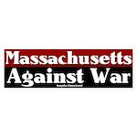 Massachusetts Antiwar Bumper Sticker