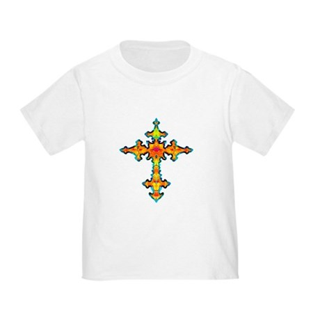 Jewel Cross Toddler T-Shirt