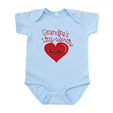 Grandpa's Little Valentine Body Suit
