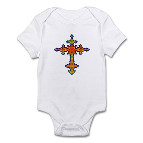 Jewel Cross Infant Bodysuit