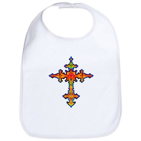 Jewel Cross Bib