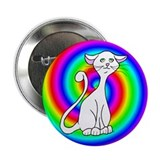 "Groovy Cat 2.25"" Button (100 pack)"