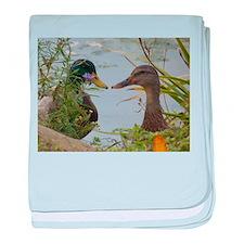 ducks baby blanket