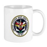 USS JFK (CV 67) Coffee Mug