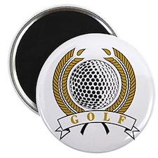 "Classic Golf Emblem 2.25"" Magnet (100 pack)"