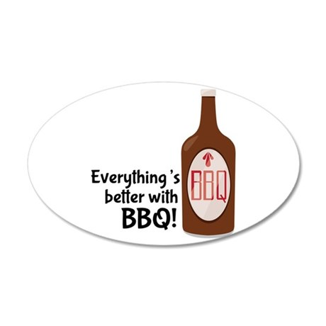 Better With BBQ! Wall Decal