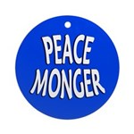 Peace Monger Ornament (Round)