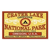 Crater Lake National Park Rectangle Decal