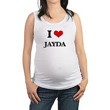 I Love Jayda Maternity Tank Top