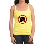 No GOP Elephants! Jr. Spaghetti Tank Top