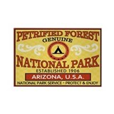 Petrified Forest National Park Rectangle Magnet