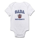 SABA University Infant Bodysuit