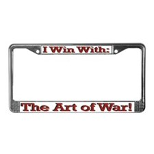 Art of War License Plate Frame