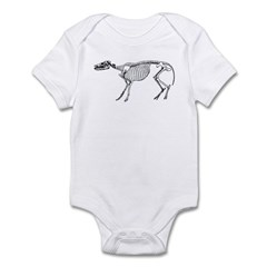 Dinosaur Skeleton Infant Bodysuit